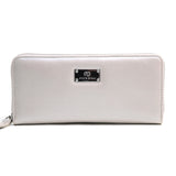 Anais Gvani Women's Genuine Leather Zip-Around Wallet w/ Gold Kissed Accents ...