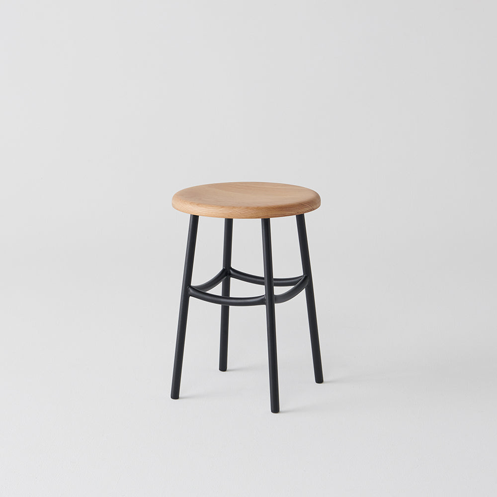 Archie Low Stool by Dowel Jones
