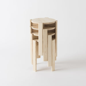 Simon Says Low Stool by Dowel Jones