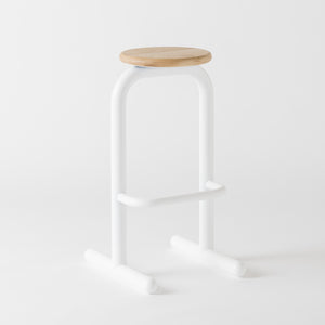 Sir Burly High Stool by Dowel Jones
