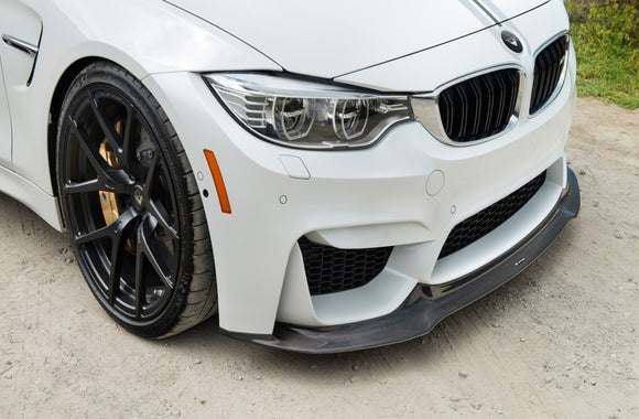 BMW F80/F82 M3/M4 Vorsteiner GTS Front Carbon Fiber Add-On Spolier - FAS Tuning