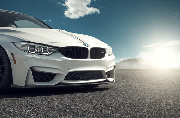 BMW F80/F82 M3/M4 Vorsteiner EVO Front Carbon Fiber Add-On Spolier - FAS Tuning