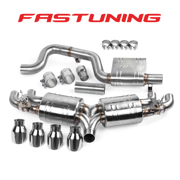 APR Valved Catback Exhaust VW MK7 Golf R - FAS Tuning