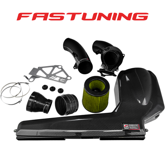 AWE Tuning S-FLO Closed Carbon Fiber Intake Audi 8V RS3/8S TTRS - FAS Tuning