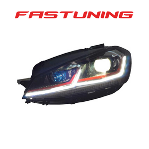 BEC Eds Reps MK7.5 GTI Style LED Headlights - FAS Tuning