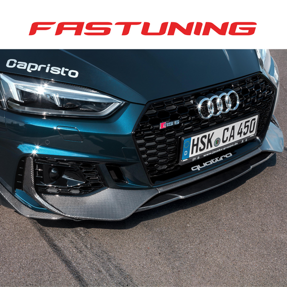 Capristo Carbon Fiber Front Lip Audi B9 RS5 - FAS Tuning