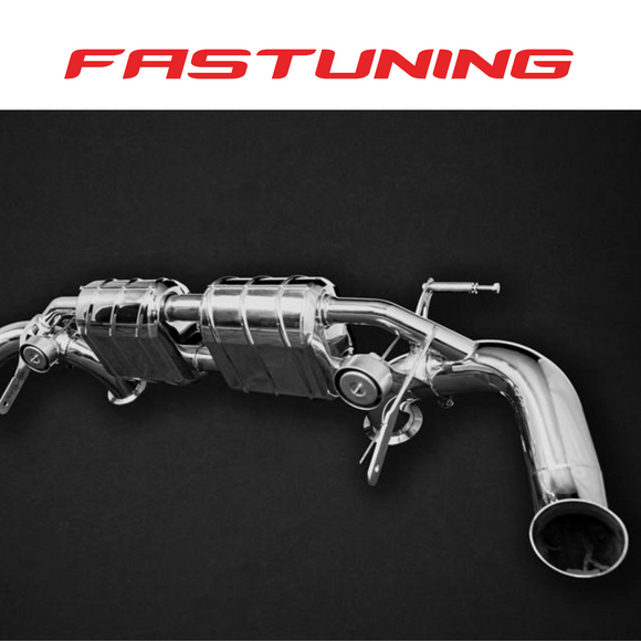Capristo Valved Exhaust CES3 Audi 4S R8 V10 (2020+) - FAS Tuning