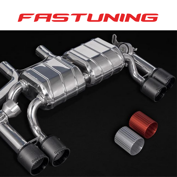 Capristo Valved Exhaust CES3 BMW F87 M2 Competition - FAS Tuning