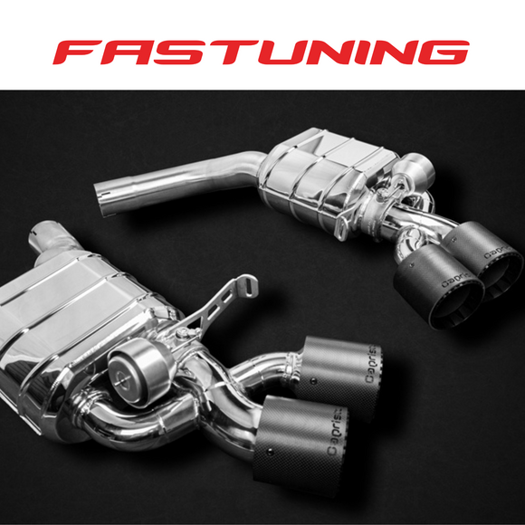 Capristo Valved Exhaust E2P Audi C8 RS6 Avant - FAS Tuning