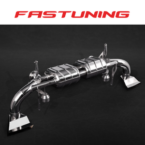 Capristo Valved Exhaust OEM Control Audi 4S R8 V10 - FAS Tuning