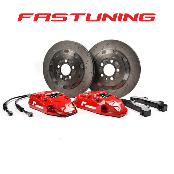RacingLine VWR Front 345mm 4 Pot Stage 2 Big Brake Kit VW/Audi MQB - FAS Tuning