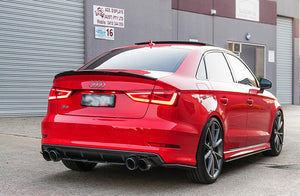 Audi 8V S3 PFL Flow Designs Side Splitters - FAS Tuning