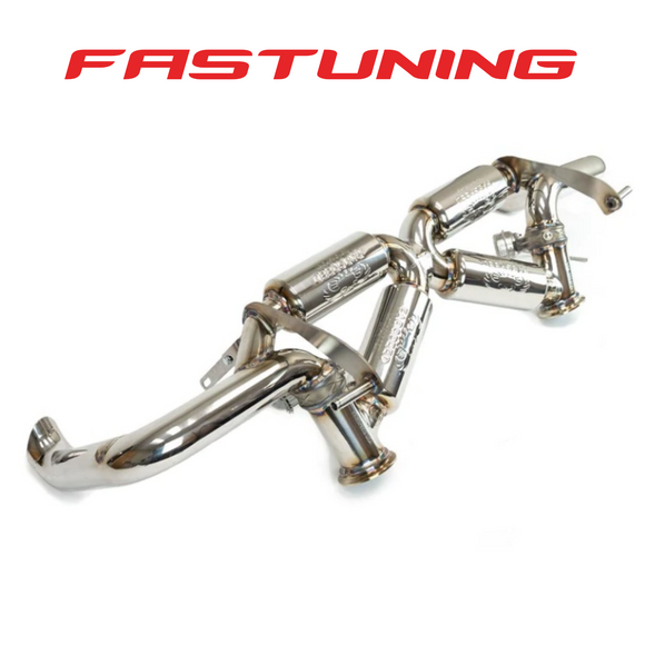 Fabspeed Valvetronic Supersport X-Pipe Exhaust Audi 4S R8 V10 - FAS tuning