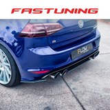 Flow Designs Rear Valance & Fairing VW MK7 Golf R - FAS Tuning
