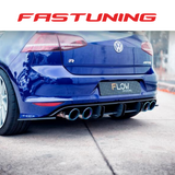 Flow Designs Splitter Package Two Bundle Set VW MK7 Golf R