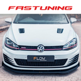 Flow Designs Splitter Package Two Bundle Set VW MK7 GTI - FAS Tuning