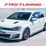 Flow Designs V3 Side Splitters VW MK7 GTI - FAS Tuning