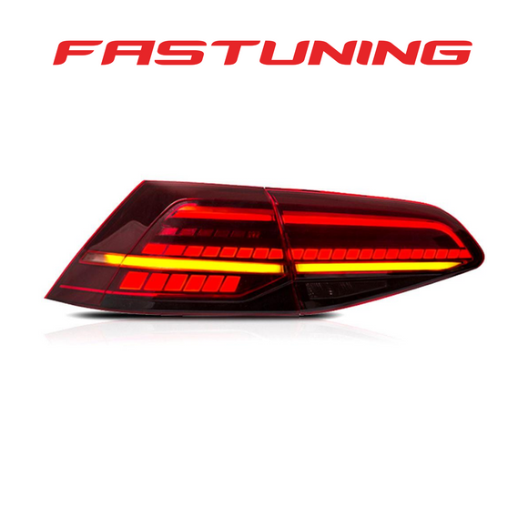 Helix MK7.5 Euro Replica LED Tail Lights VW MK7 Golf/GTI/Golf R - FAS Tuning