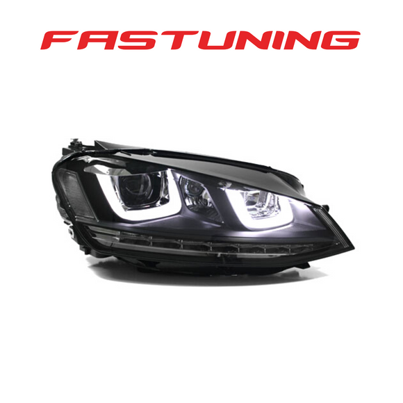 Helix MK7 Black Stripe Helix LED Headlights VW MK7 Golf/GTI - FAS Tuning