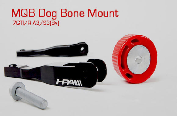 MQB HPA Motorsports Dog Bone Mount - FAS Tuning