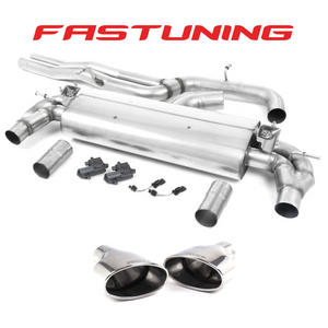 Milltek Non Resonated Catback Exhaust Audi 8V RS3 - FAS Tuning