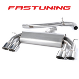 Milltek Non Valved Non Resonated Catback Exhaust VW MK7 Golf R - FAS Tuning