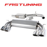 Milltek Non Valved Resonated Catback Exhaust VW MK7 Golf R - FAS Tuning