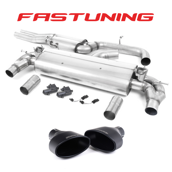 Milltek Resonated Catback Exhaust Audi 8V RS3 - FAS Tuning