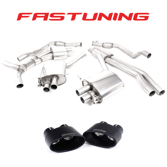Milltek Resonated Catback Exhaust Audi B9 RS5 Sportback - FAS Tuning