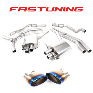 Milltek Road+ Catback Exhaust Audi B9 RS5 Coupe - FAS Tuning