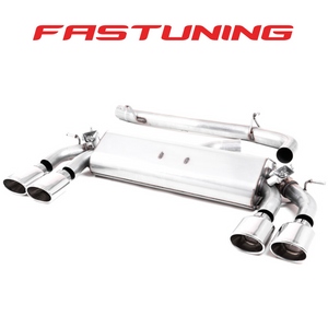 Milltek Valved Non Resonated Catback Exhaust VW MK7.5 Golf R - FAS Tuning