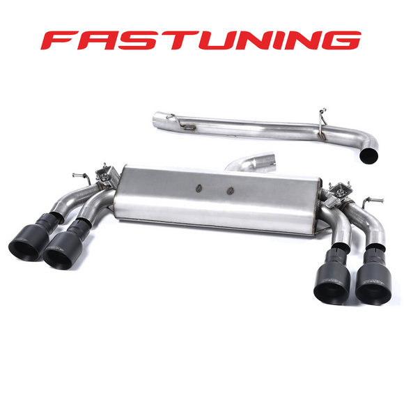 Milltek Valved Non Resonated Catback Exhaust VW MK7 Golf R - FAS Tuning