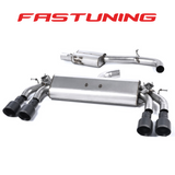 Milltek Valved Resonated Catback Exhaust VW MK7 Golf R - FAS Tuning