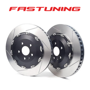 Neuspeed 370mm 2 Piece Front Brake Floating Rotors Audi 8V RS3 - FAS Tuning