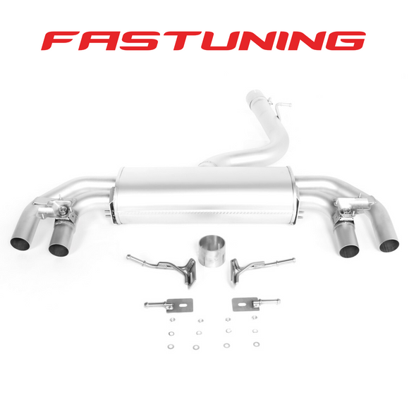 Remus Axle Back Exhaust VW MK 7.5 Golf R - FAS Tuning
