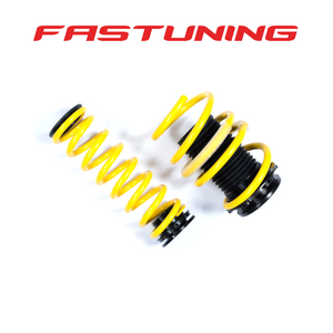 ST Suspensions Adjustable Lowering Springs with DRC Audi B9 - FAS Tuning