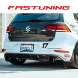 Seibon Carbon MB Style Carbon Fiber Rear Lip VW MK7.5 GTI - FAS Tuning
