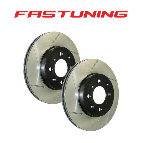 StopTech Front 312mm Slotted Brake Rotors VW/Audi - FAS Tuning