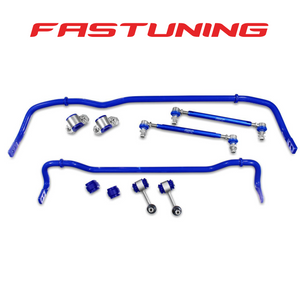 SuperPro 26mm Front and 24mm Rear Sway Bar Kit VW/Audi MQB AWD - FAS Tuning