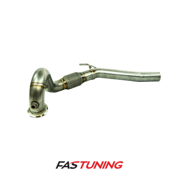 VW MK7 GTI Forge Motorsport High Performance Downpipe - FAS Tuning