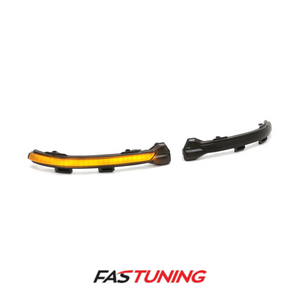 FAS Tuning Smoked Sequential Amber LED Mirror Turn Signal Indicators VW MK7 Golf/GTI/Golf R - FAS Tuning