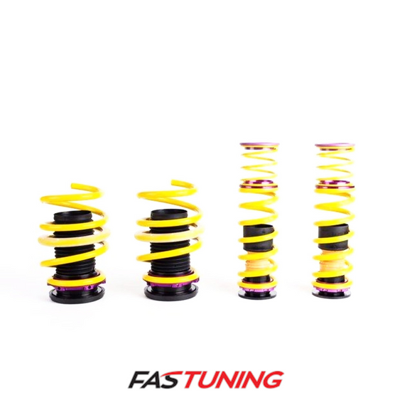 VW MK7 GTI/Golf R KW H.A.S. Height Adjustable Springs - FAS Tuning