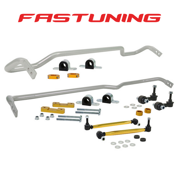 Whiteline 24mm Front and 22mm Rear Sway Bar Kit VW/Audi MQB FWD - FAS Tuning