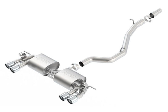 VW MK7 Golf R Borla Catback Exhaust - FAS Tuning