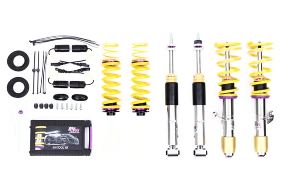 BMW F80/F82 M3/M4 KW V3 Coilovers With EDC Cancellation Kit - FAS Tuning