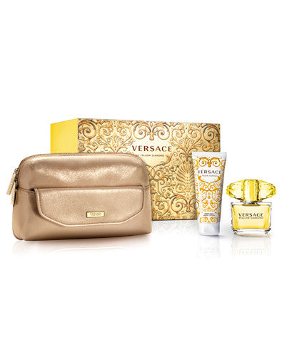 Yellow Diamond 2 PC Travel Set