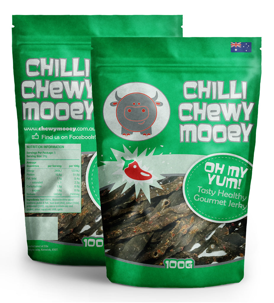 Chilli Chewy Mooey - Various Sizes