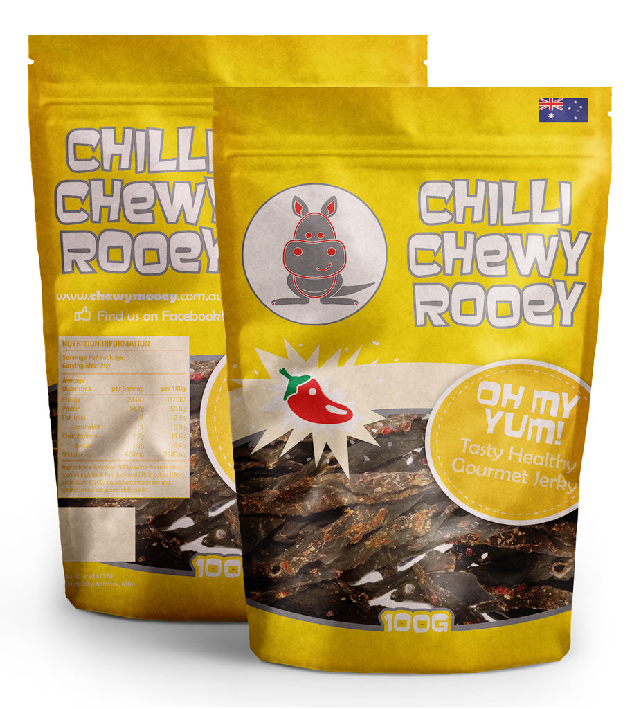 Chilli Chewy Rooey - Various Sizes