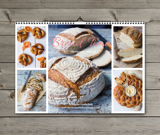 'Bread Time' 2017 Thermomix Calendar + eBook - the TM shop - Thermomix recipes, Thermomix cookbooks, Thermomix accessories