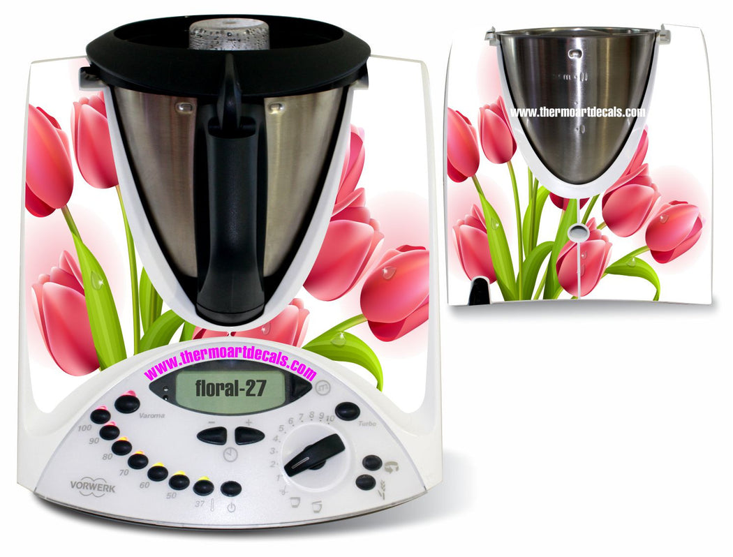 Tulip Floral 27 decal TM31